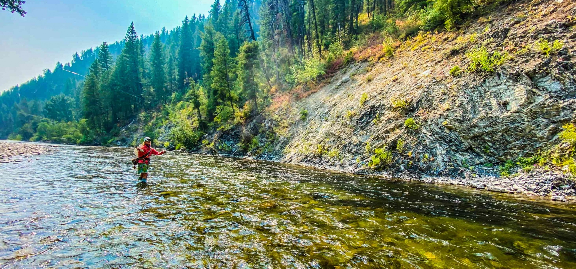 Fly fishing with sun valley outfitters